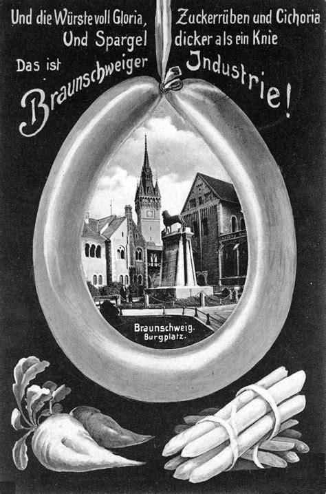Postkarten Drucken Braunschweig by Konservenindustrie In Braunschweig