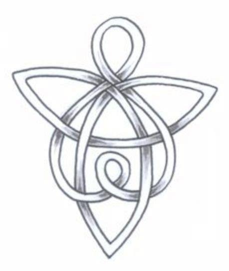 tattoo angel symbol celtic guardian angel symbol tattoo design