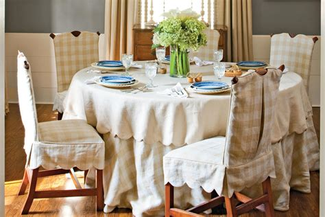dining room linens soften the space with linens stylish dining room