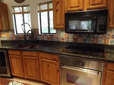 mexican tile kitchen backsplash 17 best ideas about mexican tile kitchen on