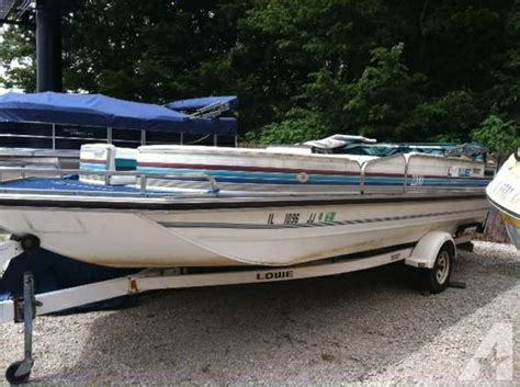 aluminum deck boat for sale 1992 lowe deck boat for sale in hillsboro illinois