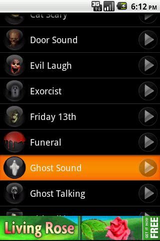 Creepy Door Sound Effect by Scary Ringtones Androidapplications