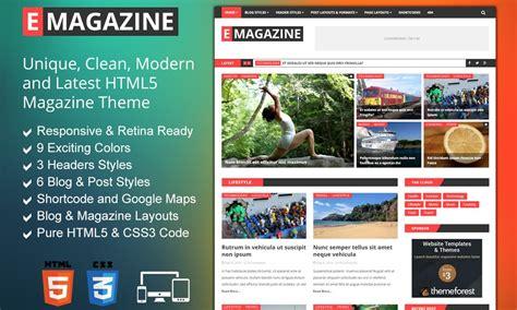 theme blog magazine narya wordpress food blog theme