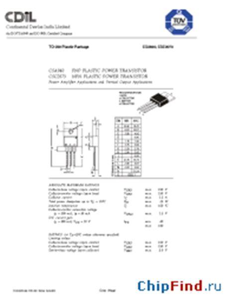 c2073 transistor data csc2073 cdil csa940 pnp plastic power transistor csc2073 npn plastic power transistor