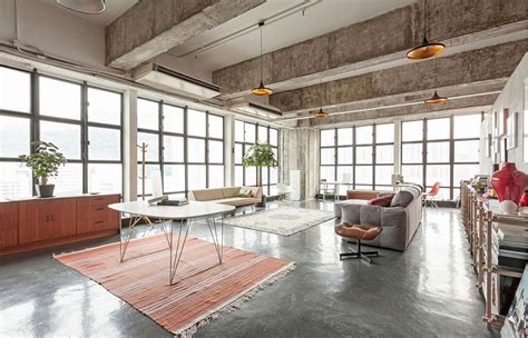 industrial style loft modern industrial loft in hong kong by mass operations