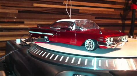 rc lowrider 1960 chevrolet impala frontachse test 2