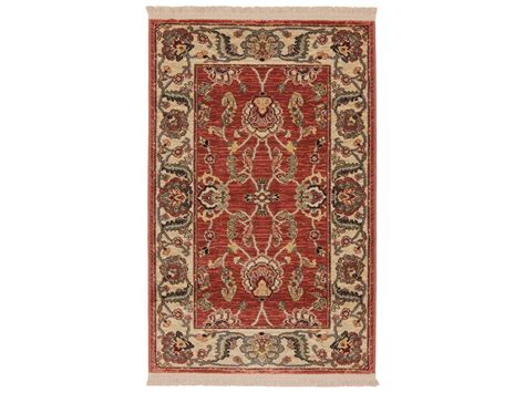 Karastan Rugs Ashara Agra Rectangular Fire Engine Red Area Karastan Area Rugs