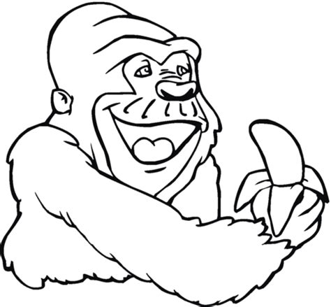 gorilla family coloring page 301 moved permanently