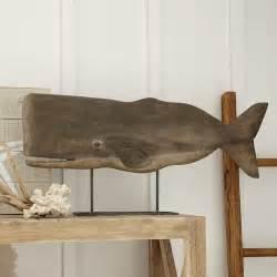 birch wood decor mango wood whale decor wayfair