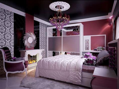 purple master schlafzimmer ideen f 252 r schlafzimmer wie gestaltet die decke im