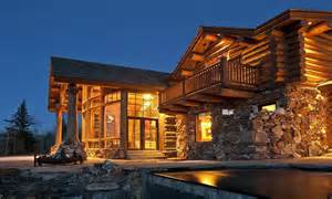 Log Cabin Luxury Homes by Luxury Log Cabin Home Biggest Luxury Log Home Luxury
