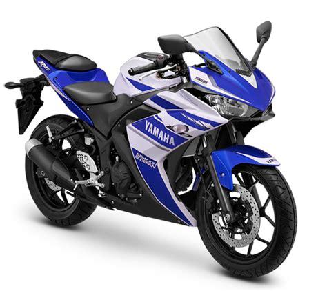 Motor Yamaha 2 R membalut motor yamaha r25 dengan tilan ala moto gp