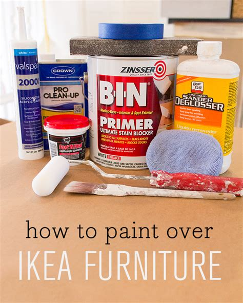 how to paint ikea furniture tips tricks to paint over laminate foil covered ikea