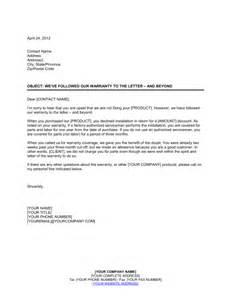 Labor Certification Letter Format warranty letter format claim sample warranty the letter and beyond