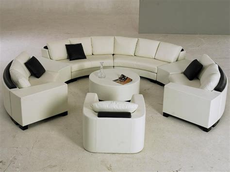 half circle couch design keep stylish and stunning only with a piece of half circle