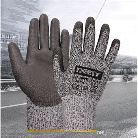 Cut Resistant Gloves Anti Cutting Food Grade Level 5 Kitchen Butcher P 2018 anti cutting gloves cut resistant gloves level 5
