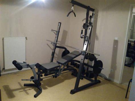 Banc De Musculation Complet Professionnel by Troc Echange Staton Musculation Marcy Banc Complet Sur