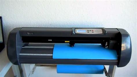 tutorial video cutter cutting plotter schneideplotter tsp 720 de decoupe tut