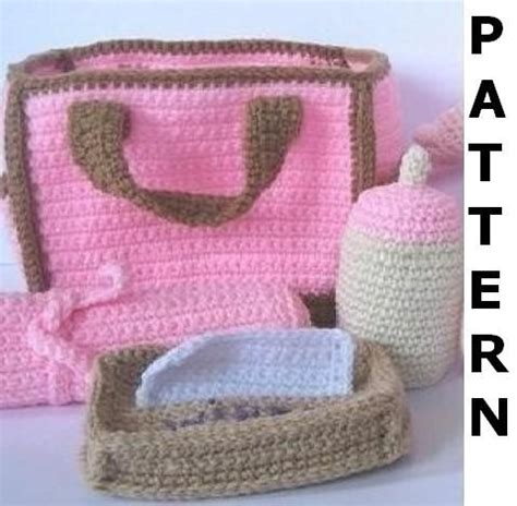 free crochet pattern baby bag free baby diaper bag pattern lena patterns