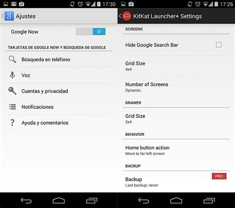 ferrer pc y android kitkat ferrer pc y android kitkat launcher android 4 4 con configuraci 243 n
