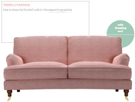 bright pink sofa sofa dressing pastel trend bright bazaar by will taylor