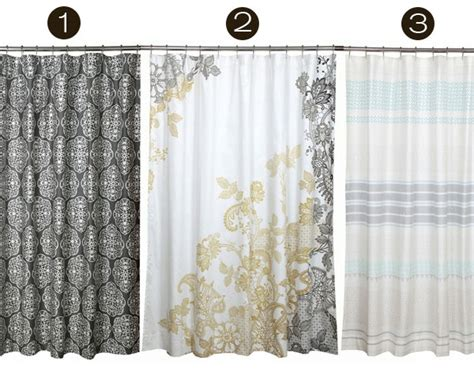 sophisticated shower curtains easy as inmod style