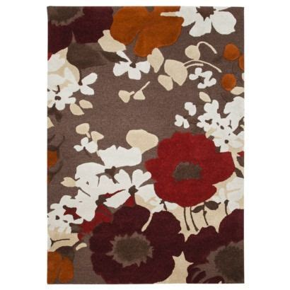 Poppy Kitchen Rug Threshold Wool Poppy Area Rug Brown Different Look Warmer Color Palatte Less Bright And