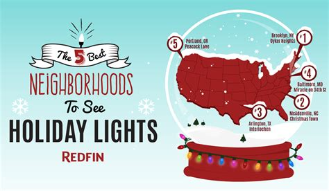 the best neighborhoods to see holiday lights in 2014 via