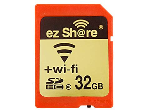 Wifi Sd Card lzeal releases ezshare wireless sdhc card with a wi fi on switch digital photography review