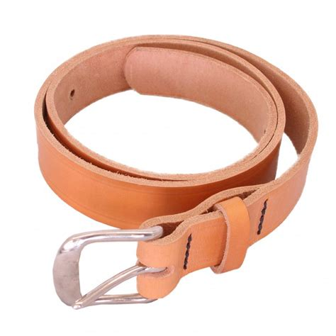 Handmade Mens Leather Belts - othello mens real leather belt colour handmade in