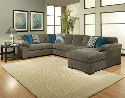 Comfort Industries 3 Pc Fire Fly Sectional Sofa