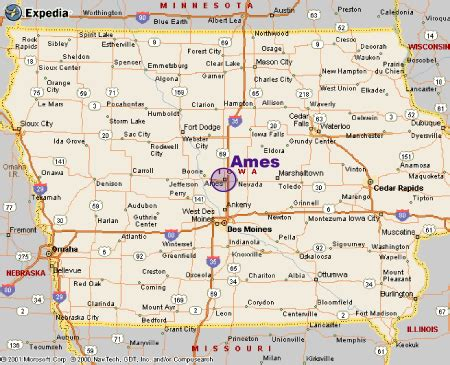 state of iowa map distance programs in agronomy iowa state