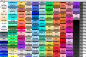 color names chart 28 color name gallery for gt color names color