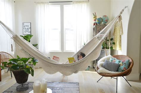 hammock in room hammock in the living room why not inspirational