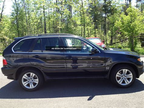 Bmw X5 2004 by 2004 Bmw X5 4 4i Condition