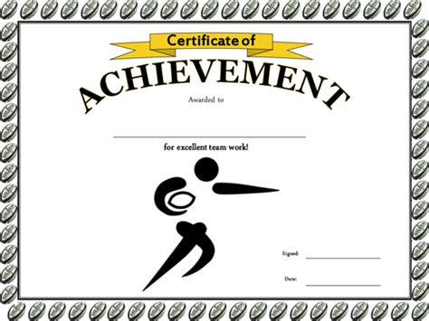 templates for rugby certificates certificate templates for rugby choice image certificate