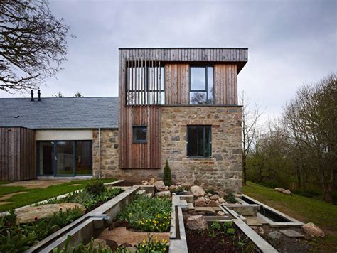 scottish house designs scottish country house incorporates ruins of a former mill idesignarch interior