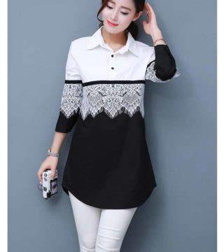 Dress Korea Hitam Zipper Import Promo Murah baju atasan putih hitam renda terbaru model terbaru jual murah import kerja