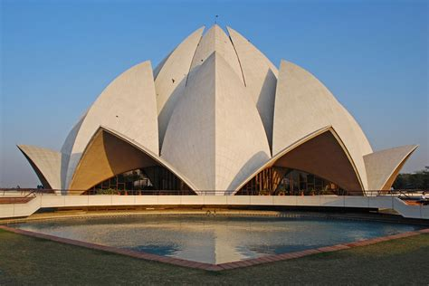 architect of lotus temple lotus temple a symbol of excellence in modern indian