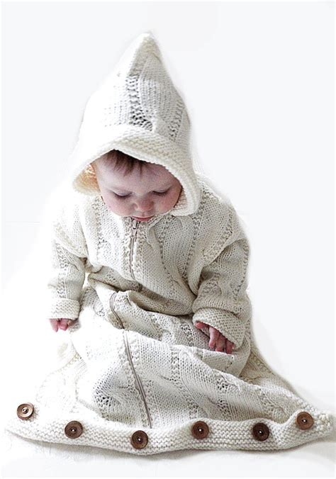 baby bunting bag knitting pattern baby bunting snuggly sleeping bag with detachable