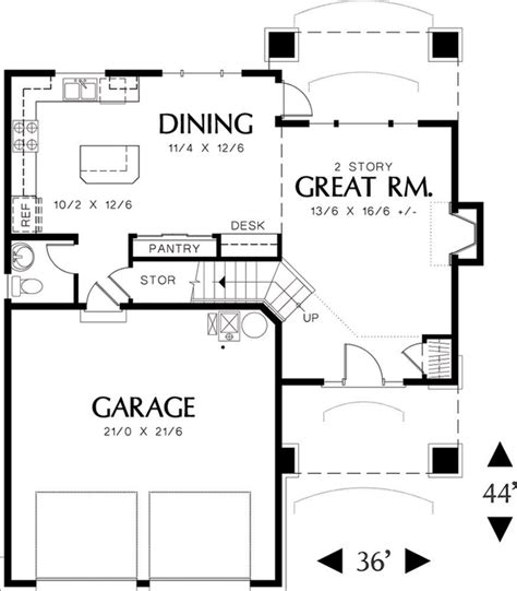1500 sq ft house plans with garage traditional style house plan 3 beds 2 5 baths 1500 sq ft plan 48 113