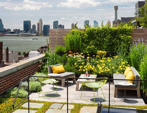 Roof Top Garden Ideas Rooftop Garden Design Interior Design Ideas