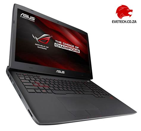 Asus Rog Laptop 32gb Ram buy asus rog g751jy i7 gaming laptop with 256gb ssd 32gb ram at evetech co za