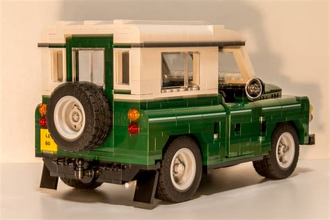 lego land rover discovery lego land rover concept the awesomer