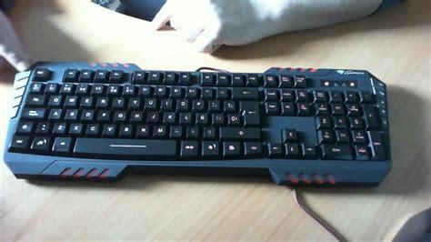 Jersey Genesis Pro Gaming unboxing natec genesis rx55 pro gaming keyboard