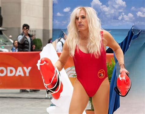 matt lauer dresses as pamela anderson as today show celebrates pamela anderson or matt lauer