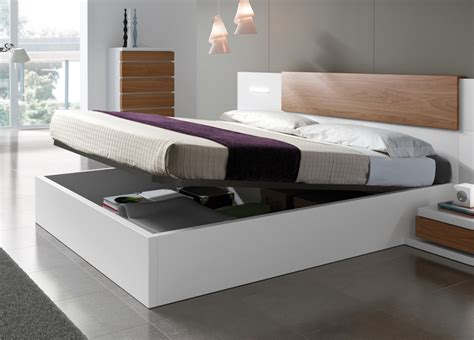 modern bed with storage kenjo storage bed storage beds contemporary beds