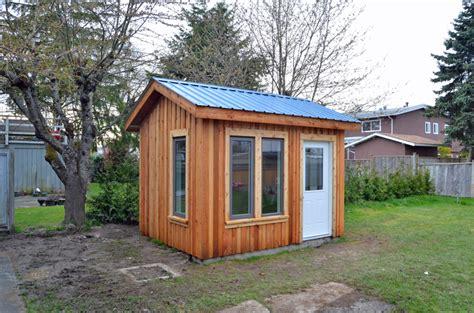 backyard office shed sheds vancouver