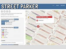 Street Parking Regulations Related Keywords Suggestions Long - Nyc alternate side parking map
