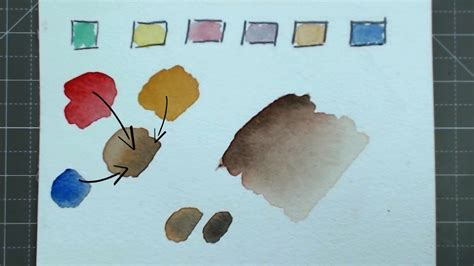 how to make skin color creating skin colour skin tones easy watercolor